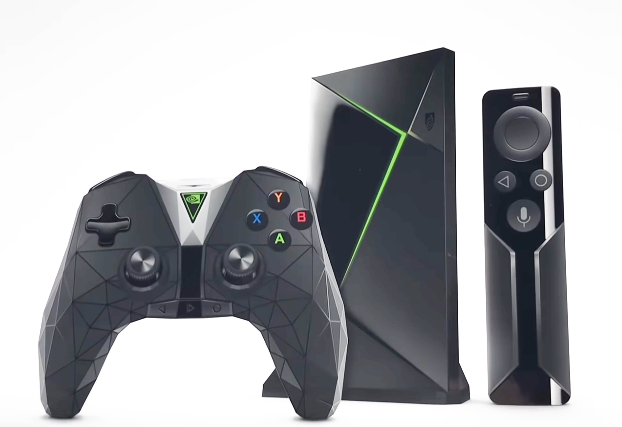 Nvidia Shield with Android TV – 4K set-top box with game streaming service